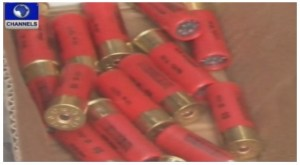 Live Ammunition sized by customs in Nigeria