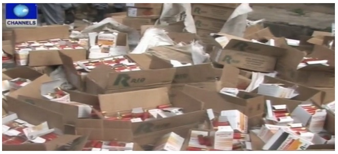 Nigeria Customs Seizes 30,000 Rounds Of Live Ammunition • Channels Television