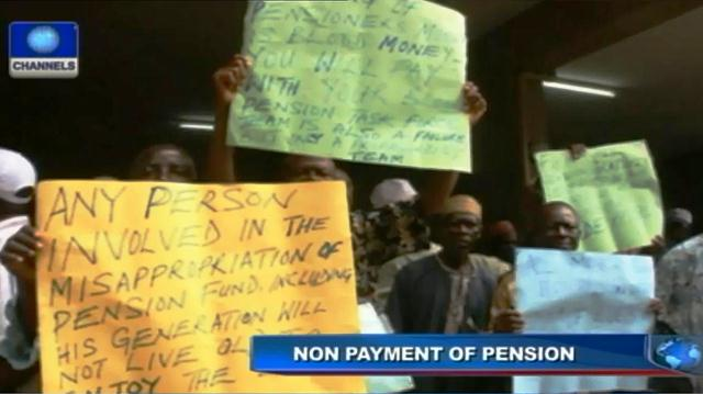 Nigerian Union Of Pensioners Protests Non-Implementation of 33% Increment