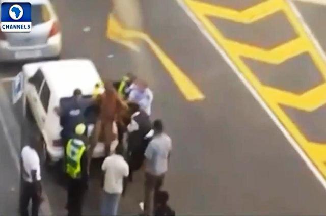 VIDEO: Nigerian Man Stripped, Beaten In South Africa