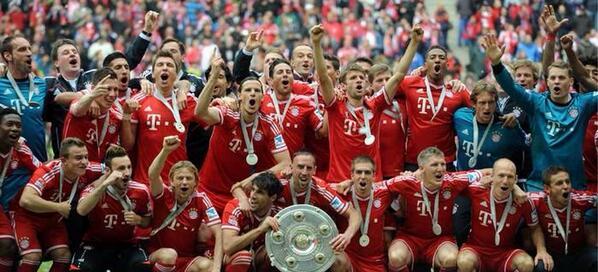 Bayern Munich Back Home After Winning Bundesliga Title