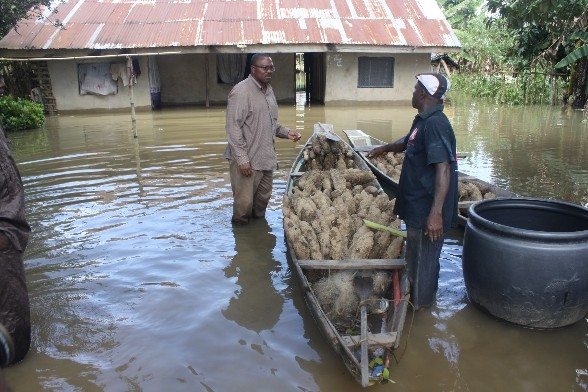 Ossomala Farmers Fault Distribution Of Flood Relief Funds