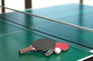 Table tennis rackets and ball NTTF