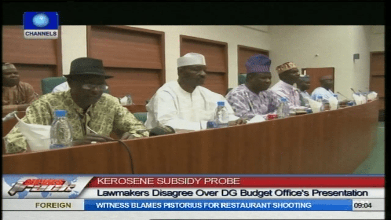 Kerosene Subsidy: Lawmakers Argue Over DG Budget Office's Presentation
