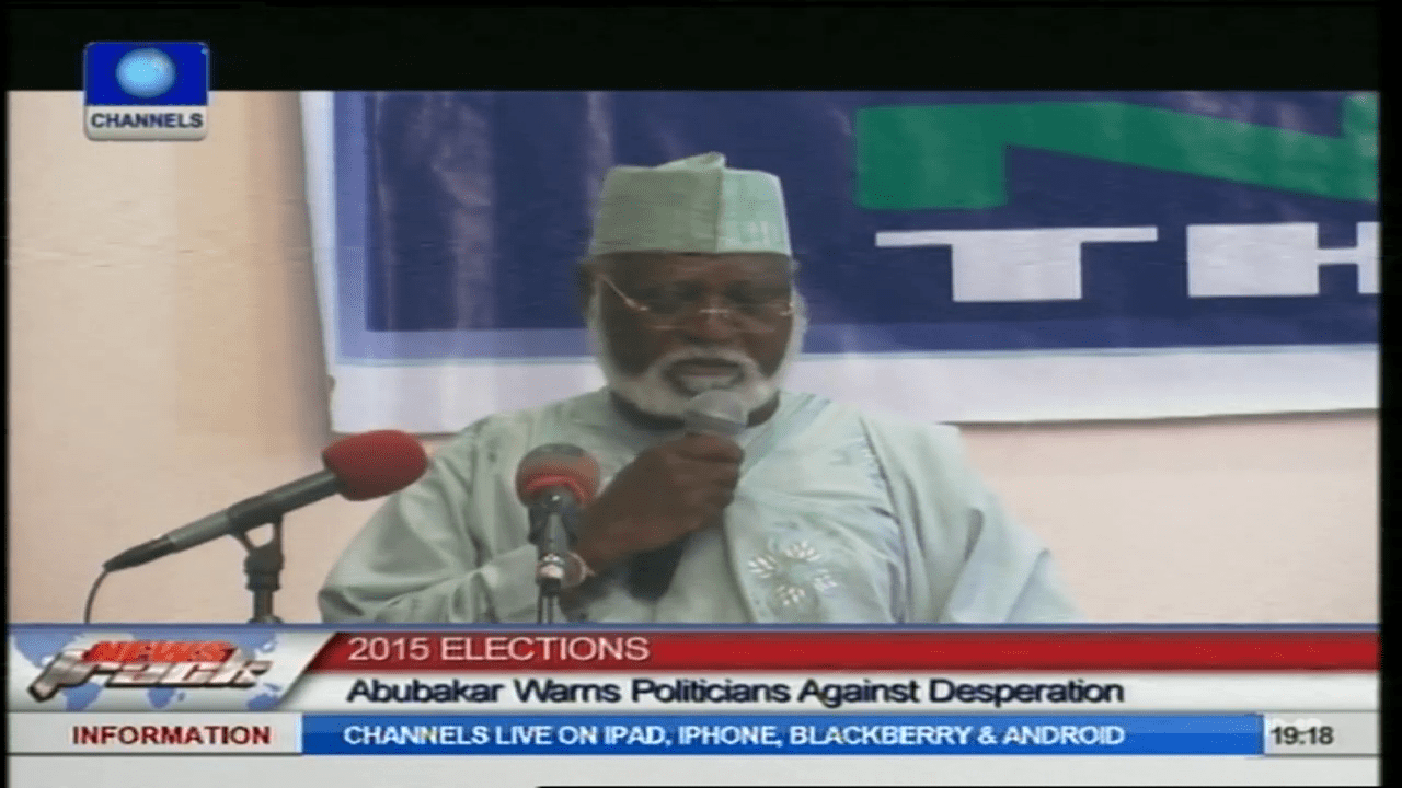 2015 Elections Will Determine Nigeria's Stability And Indivisibility-Abdulsalam