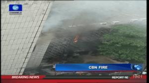 CBN Burning Building