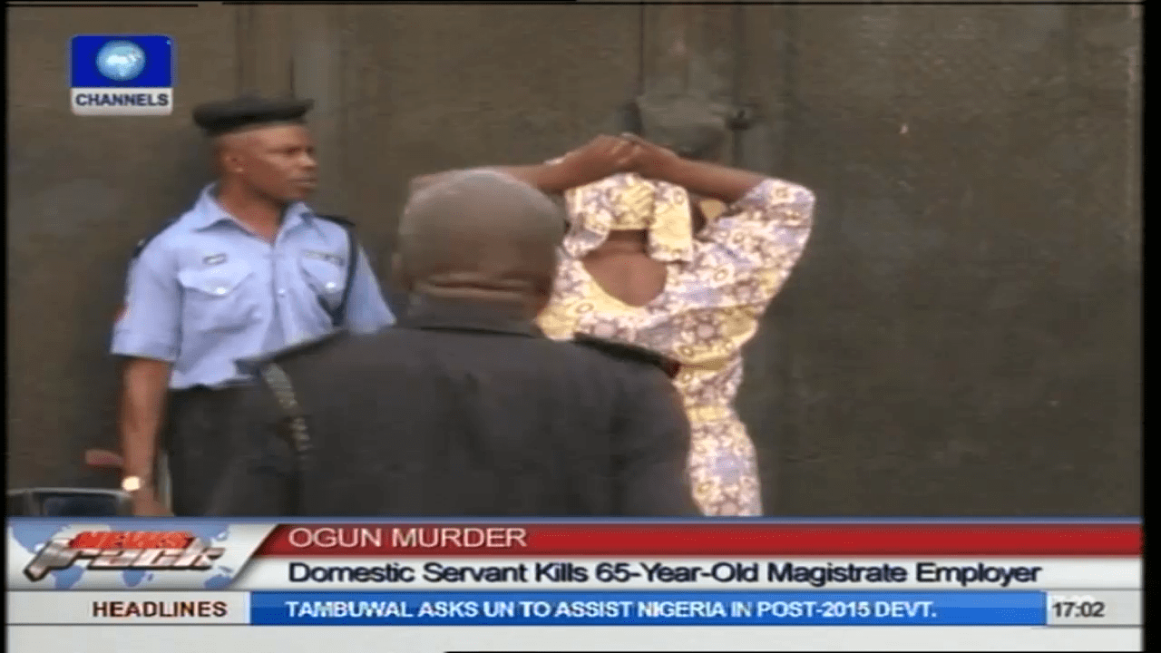 House Help Who Killed Ogun Magistrate Arraigned In Court