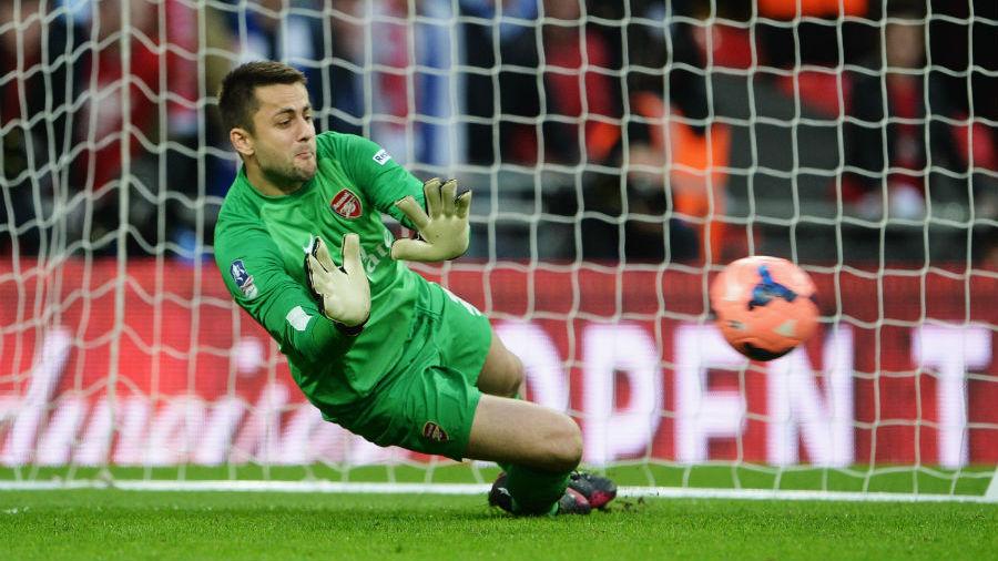 English FA Cup Semi-Final: Arsenal Beat Wigan 4-2 On Penalties