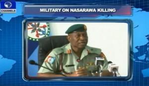 Military on Nasarawa Killing