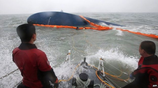 Bad Weather Hampers Search For S/Korea Ferry Survivors