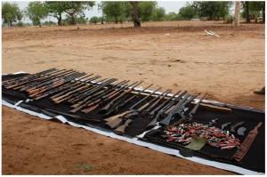 Terrorists-arms