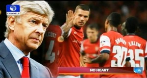 Wenger Arsenal - No heart