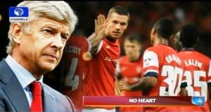 Wenger Arsenal - No heart