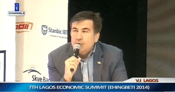 Saakashvili Urges Private sector To Open Market For Investment