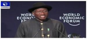 Goodluck Jonathan-WEFA-2014