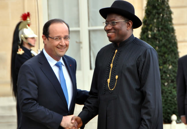 President Jonathan To Discuss Boko Haram In Paris