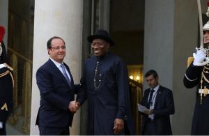 Presidents:  Hollande, Jonathan