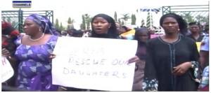 Protesting-women-Chibok-Girls