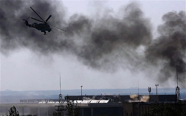 Ukraine Unrest: Clash At Donetsk Airport Kills Dozens