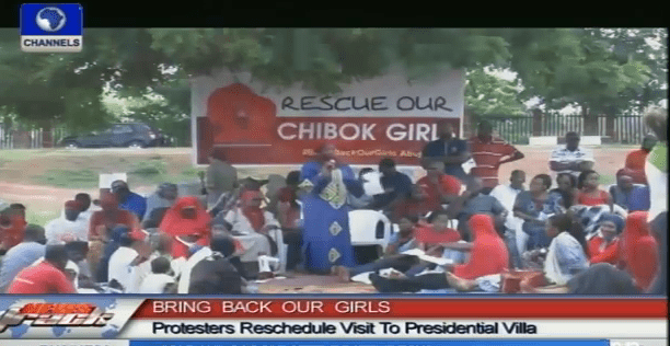 #BringBackOurGirls: Protesters Reschedule Visit To Presidential Villa