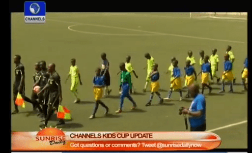 Channels National Kids Cup: Our Next Jay – Jay Okocha Is In The School Right Now – Okon-Akpan