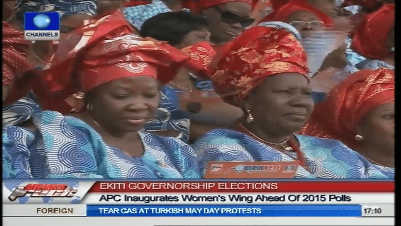 APC Inaugurates Women Wing Ahead Of 2015 Polls