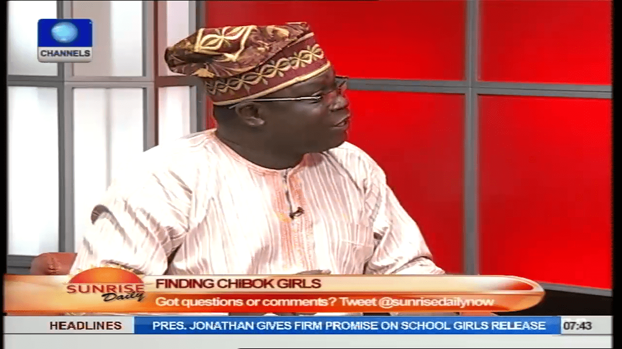Analyst Blames Federal And State Governments Over Missing Chibok Girls