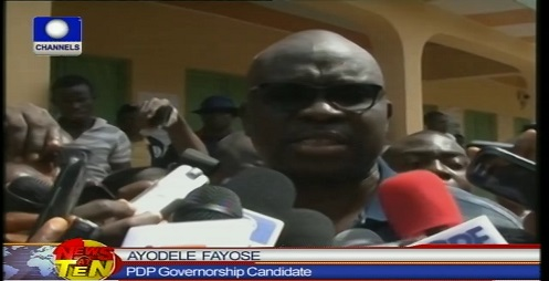 INEC Declares Ayo Fayose Winner Of Ekiti Governorship Election