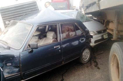 Ghastly Motor Accident Leaves 6 Dead On Lagos-Ibadan Expressway
