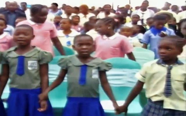 Metrofile: Delta Children Pray For Abducted Chibok Girls