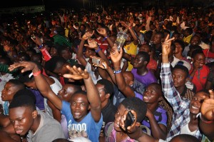 FANS AT STAR MUSIC TREK LAGOS 2