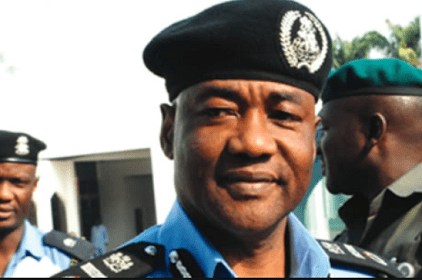 IGP Decorates Newly Promoted Police Officers