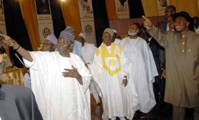 Jonathan Meets With Former Heads Of State Over Chibok