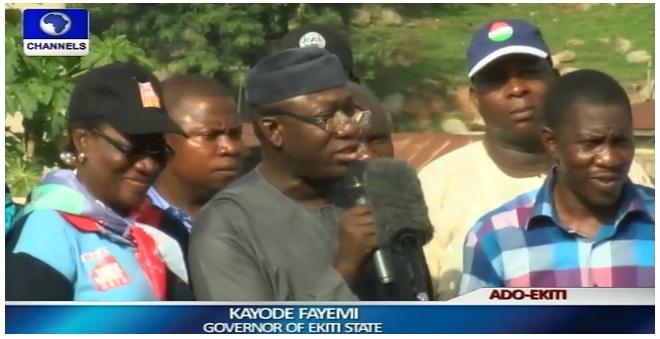 Ekiti Election: Labour Unions Endorse Fayemi's Re-election