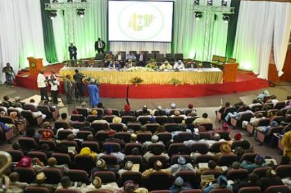 Nat'l Conference Approves Rotation Of Presidency Between North And South
