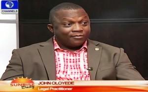 Sunrise Daily John Oloyede