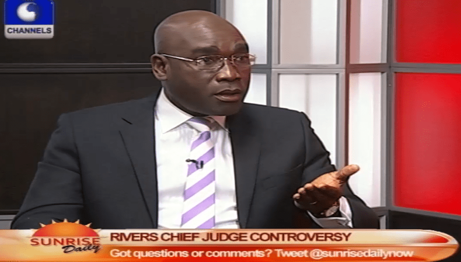 Amaechi Cannot Appoint A Chief Judge Without NJC – Lawyer