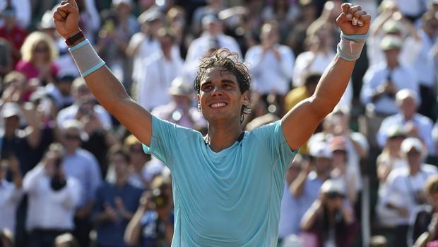 Rafael Nadal Trains For Madrid Open Tournament