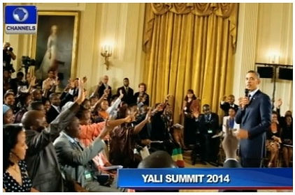 Obama Meets With 500 African Youth In Washington D.C.