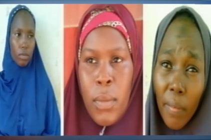 Troops Uncover Boko Haram Female Wing Members