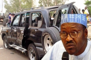 Buhari Bomb damage