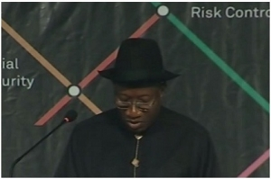 Goodluck Jonathan- World pension Summit