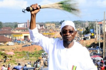 Osun Election: Governor Aregbesola Woos Voters In Ede