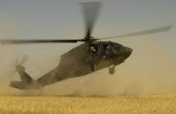 Air Force Helicopter Crashes In Borno