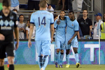 Iheanacho Scores As Manchester City Defeats Sporting Kansas City