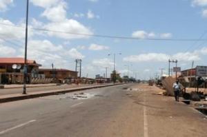 Kaduna deserted