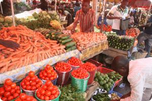 Nigeria market Food Stuff