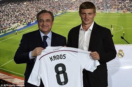 Real Madrid Signs German World Cup Star, Toni Kroos