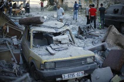 Israel Resumes Air Strike In Gaza Strip, Kills 7 Palestinians