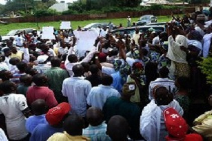 Southern Kaduna Youths Protest Frequent Kinsmen Killings